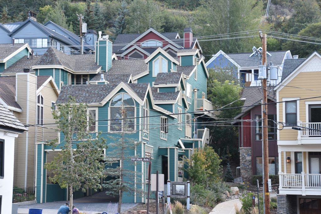 city view of Park City